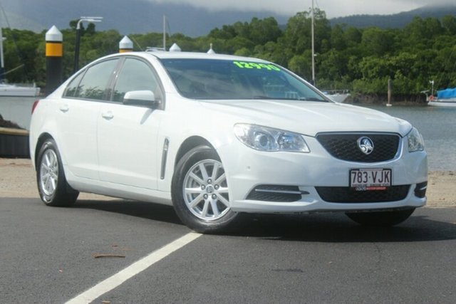 Used Holden Commodore VF MY14 Evoke, 2013 Holden Commodore VF MY14 Evoke White 6 Speed Sports Automatic Sedan