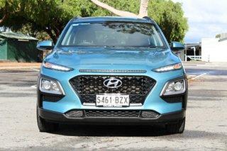2018 Hyundai Kona OS MY18 Active 2WD Blue 6 Speed Sports Automatic Wagon.