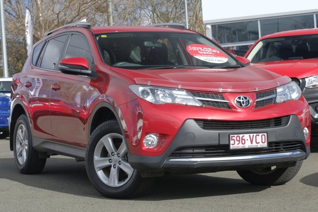 Used Toyota RAV4 ZSA42R MY14 GXL 2WD, 2014 Toyota RAV4 ZSA42R MY14 GXL 2WD Red 7 Speed Constant Variable Wagon