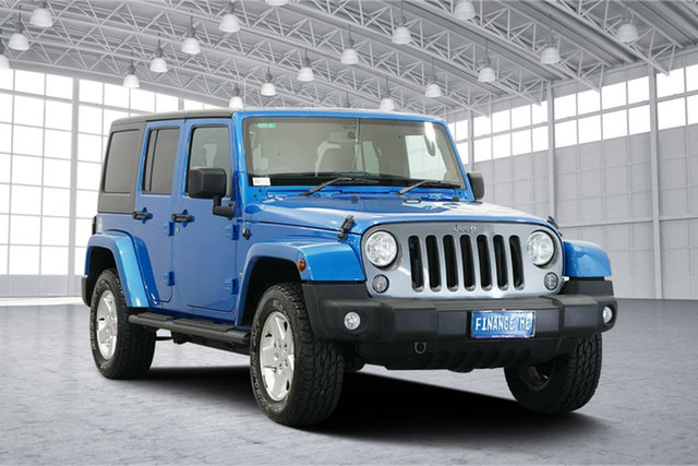 Used Jeep Wrangler JK MY2014 Freedom, 2014 Jeep Wrangler JK MY2014 Freedom Hydro Blue Peal Co 6 Speed Manual Softtop