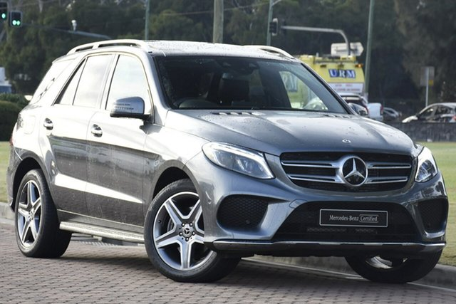 Used Mercedes-Benz GLE250 W166 MY808+058 d 9G-Tronic 4MATIC, 2018 Mercedes-Benz GLE250 W166 MY808+058 d 9G-Tronic 4MATIC Grey 9 Speed Sports Automatic SUV
