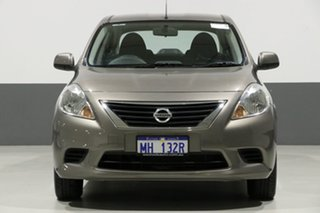 2012 Nissan Almera N17 ST Grey 4 Speed Automatic Sedan.