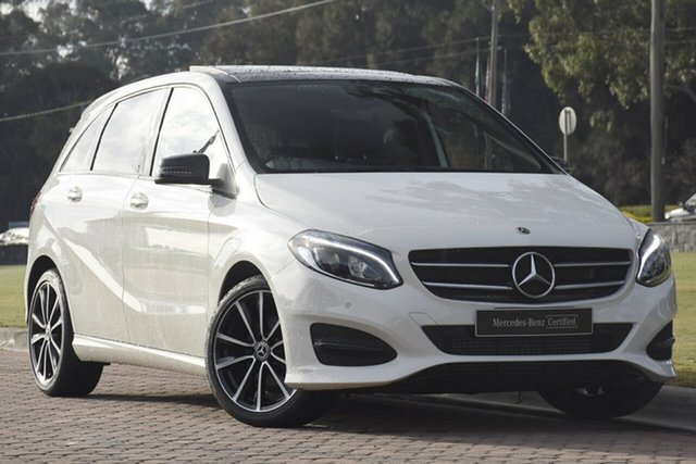 Used Mercedes-Benz B180 W246 808+058MY DCT, 2017 Mercedes-Benz B180 W246 808+058MY DCT White 7 Speed Sports Automatic Dual Clutch Hatchback