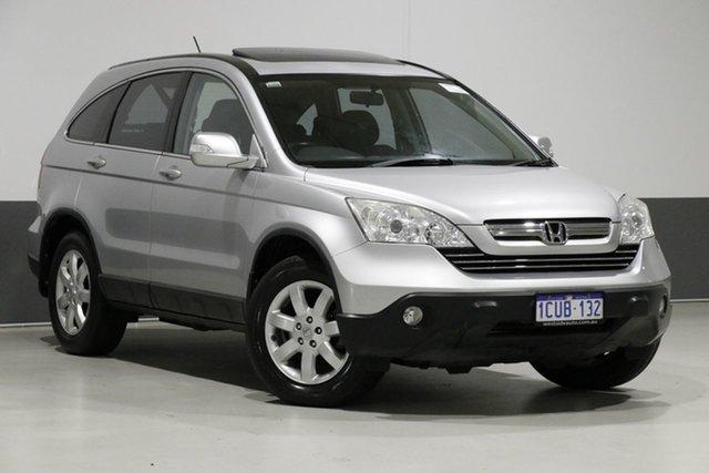 Used Honda CR-V MY07 (4x4) Luxury, 2008 Honda CR-V MY07 (4x4) Luxury Silver 5 Speed Automatic Wagon