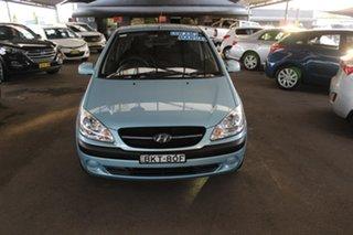 2010 Hyundai Getz TB MY09 S Blue 5 Speed Manual Hatchback.