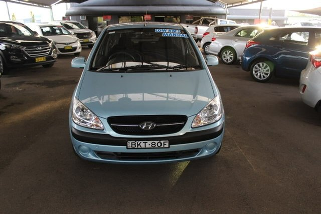 Used Hyundai Getz TB MY09 S, 2010 Hyundai Getz TB MY09 S Blue 5 Speed Manual Hatchback