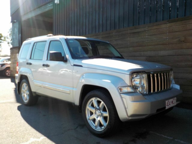 Used Jeep Cherokee KK MY11 Limited, 2011 Jeep Cherokee KK MY11 Limited Silver 4 Speed Automatic Wagon