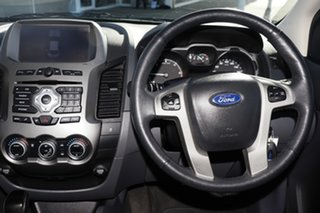 2014 Ford Ranger PX XLT Double Cab Grey 6 Speed Sports Automatic Utility