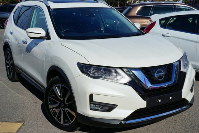 Used Nissan X-Trail T32 Series II Ti X-tronic 4WD, 2019 Nissan X-Trail T32 Series II Ti X-tronic 4WD White 7 Speed Constant Variable Wagon