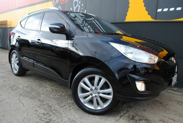 Used Hyundai ix35 LM Highlander AWD, 2010 Hyundai ix35 LM Highlander AWD Black 6 Speed Sports Automatic Wagon
