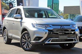 2019 Mitsubishi Outlander ZL MY19 ES ADAS 5 Seat (AWD) Starlight Continuous Variable Wagon.