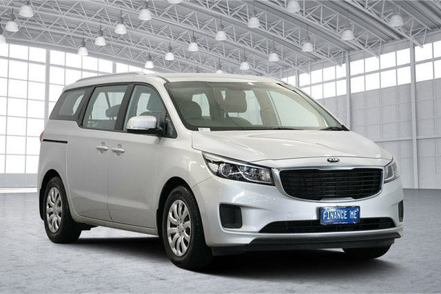 Used Kia Carnival YP MY17 S, 2017 Kia Carnival YP MY17 S Bright Silver 6 Speed Sports Automatic Wagon