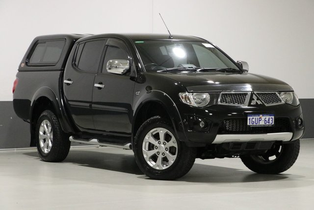 Used Mitsubishi Triton MN MY14 Update GLX-R (4x4), 2014 Mitsubishi Triton MN MY14 Update GLX-R (4x4) Black 5 Speed Manual 4x4 Double Cab Utility