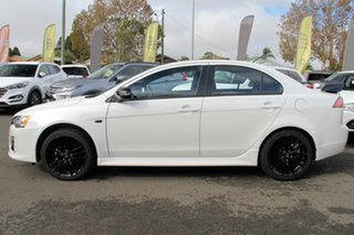 2017 Mitsubishi Lancer CF MY17 Black Edition White 6 Speed Constant Variable Sedan.