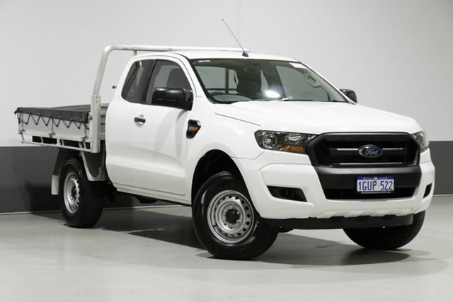 Used Ford Ranger PX MkII MY17 XL 2.2 Hi-Rider (4x2), 2017 Ford Ranger PX MkII MY17 XL 2.2 Hi-Rider (4x2) White 6 Speed Automatic Super Cab Chassis