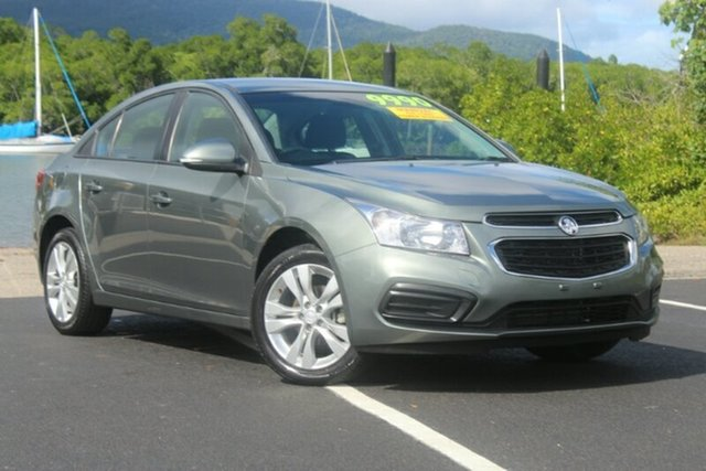 Used Holden Cruze JH Series II MY15 Equipe, 2015 Holden Cruze JH Series II MY15 Equipe Grey 5 Speed Manual Sedan