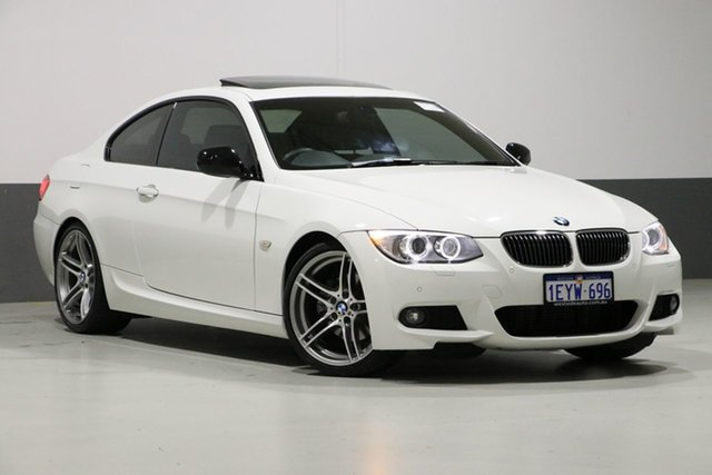 Used BMW 320d E92 MY12 , 2013 BMW 320d E92 MY12 White 6 Speed Auto Steptronic Coupe