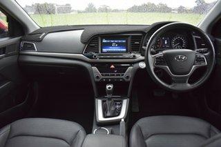 2015 Hyundai Elantra AD MY17 Elite Red 6 Speed Sports Automatic Sedan