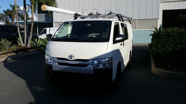 Used Toyota HiAce KDH201R LWB, 2015 Toyota HiAce KDH201R LWB French Vanilla 5 Speed Manual Van