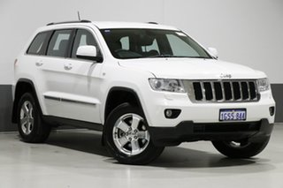 2013 Jeep Grand Cherokee WK MY13 Laredo (4x4) White 5 Speed Automatic Wagon.