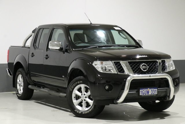 Used Nissan Navara D40 MY12 ST-X (4x4), 2013 Nissan Navara D40 MY12 ST-X (4x4) Black 7 Speed Automatic Dual Cab Pick-up