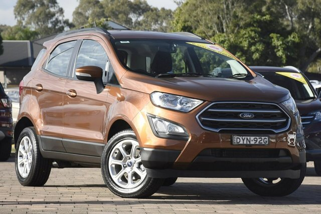 Used Ford Ecosport BL 2018.75MY Trend, 2018 Ford Ecosport BL 2018.75MY Trend Brown 6 Speed Automatic SUV
