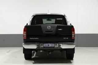 2013 Nissan Navara D40 MY12 ST-X (4x4) Black 7 Speed Automatic Dual Cab Pick-up