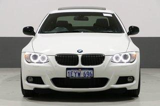 2013 BMW 320d E92 MY12 White 6 Speed Auto Steptronic Coupe.