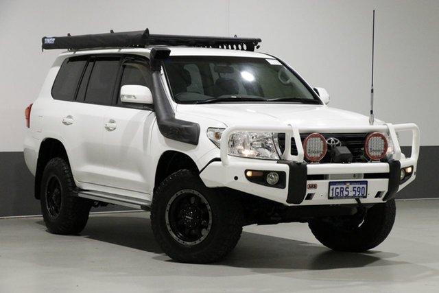 Used Toyota Landcruiser VDJ200R MY13 GXL (4x4), 2014 Toyota Landcruiser VDJ200R MY13 GXL (4x4) White 6 Speed Automatic Wagon