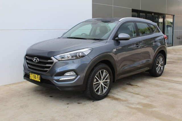 Used Hyundai Tucson TL Active X 2WD, 2015 Hyundai Tucson TL Active X 2WD Black 6 Speed Sports Automatic Wagon