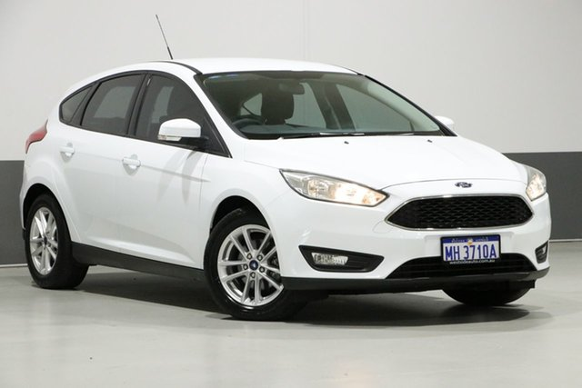 Used Ford Focus LZ Trend, 2016 Ford Focus LZ Trend White 6 Speed Manual Hatchback