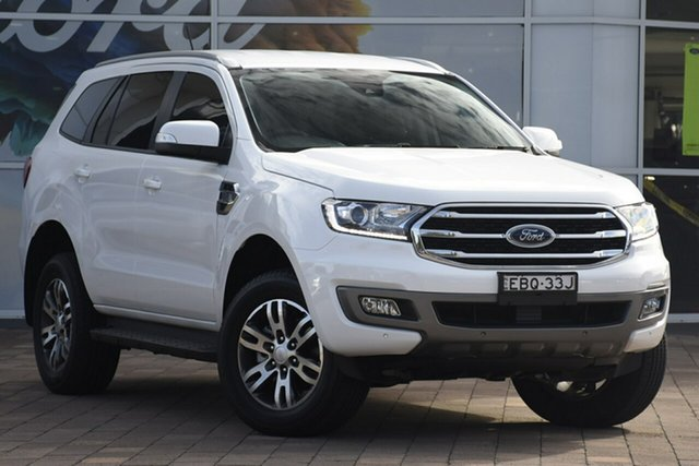 Used Ford Everest UA II 2019.00MY Trend 4WD, 2018 Ford Everest UA II 2019.00MY Trend 4WD White 6 Speed Sports Automatic SUV
