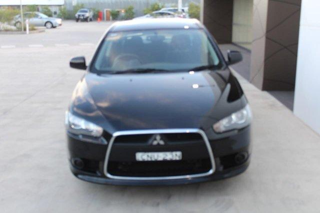 Used Mitsubishi Lancer CJ MY13 ES, 2013 Mitsubishi Lancer CJ MY13 ES Black 5 Speed Manual Sedan