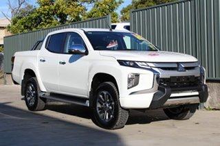 2018 Mitsubishi Triton MR MY19 GLS PREMIUM White 6 Speed Automatic.