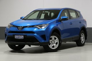 2017 Toyota RAV4 ASA44R MY17 GX (4x4) Blue 6 Speed Automatic Wagon.