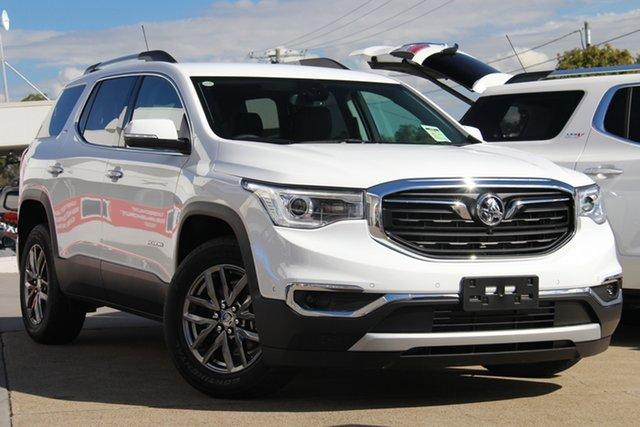 New Holden Acadia AC MY19 LTZ AWD, 2019 Holden Acadia AC MY19 LTZ AWD Summit White 9 Speed Sports Automatic Wagon