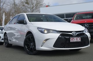 2017 Toyota Camry ASV50R RZ White 6 Speed Sports Automatic Sedan.