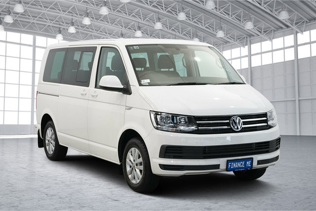 Used Volkswagen Multivan T6 MY18 TDI340 LWB DSG Comfortline, 2018 Volkswagen Multivan T6 MY18 TDI340 LWB DSG Comfortline Candy White 7 Speed