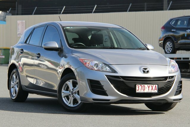 Used Mazda 3 BL10F1 MY10 Neo Activematic, 2010 Mazda 3 BL10F1 MY10 Neo Activematic Aluminium 5 Speed Sports Automatic Hatchback