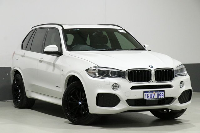 Used BMW X5 F15 MY18 xDrive 30d M Sport, 2018 BMW X5 F15 MY18 xDrive 30d M Sport White 8 Speed Automatic Wagon