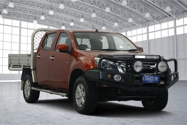 Used Isuzu D-MAX MY15 LS-M Crew Cab, 2015 Isuzu D-MAX MY15 LS-M Crew Cab Red 5 Speed Sports Automatic Utility