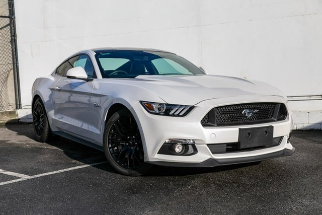Used Ford Mustang FM 2017MY GT Fastback SelectShift, 2017 Ford Mustang FM 2017MY GT Fastback SelectShift White 6 Speed Sports Automatic Fastback