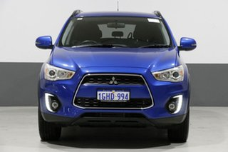 2016 Mitsubishi ASX XC MY17 LS (4WD) Blue 6 Speed Automatic Wagon