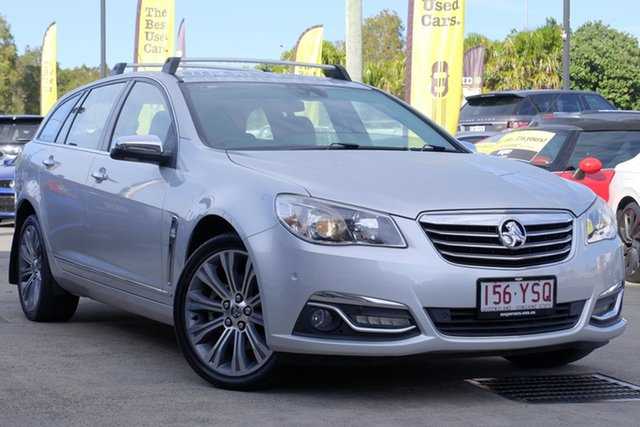 Used Holden Calais VF MY14 V Sportwagon, 2013 Holden Calais VF MY14 V Sportwagon Silver 6 Speed Sports Automatic Wagon