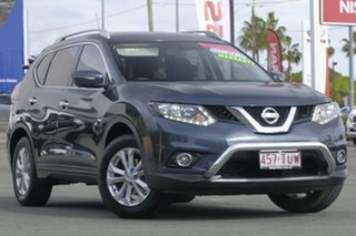 2014 Nissan X-Trail T32 ST-L X-tronic 4WD Blue 7 Speed Constant Variable Wagon.