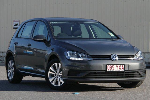 Demo Volkswagen Golf 7.5 MY19 110TSI Trendline, 2018 Volkswagen Golf 7.5 MY19 110TSI Trendline Indium Grey 6 Speed Manual Hatchback
