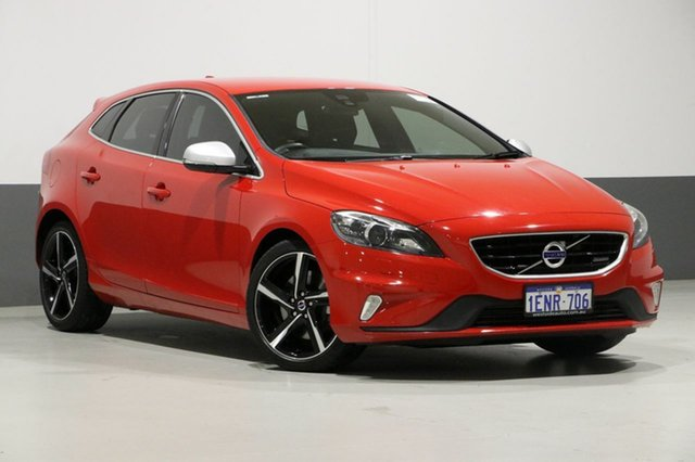 Used Volvo V40 M MY14 T5 R-Design, 2014 Volvo V40 M MY14 T5 R-Design Red 6 Speed Automatic Hatchback