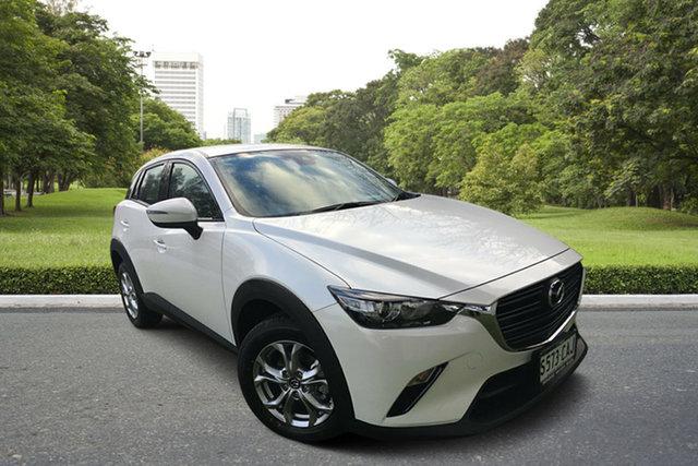 Demo Mazda CX-3 DK2W7A Maxx SKYACTIV-Drive FWD Sport, 2019 Mazda CX-3 DK2W7A Maxx SKYACTIV-Drive FWD Sport White Pearl 6 Speed Sports Automatic Wagon