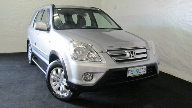 Used Honda CR-V RD MY2005 Sport 4WD, 2005 Honda CR-V RD MY2005 Sport 4WD Silver 5 Speed Manual Wagon