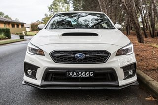 2018 Subaru WRX V1 MY19 Premium Lineartronic AWD Crystal White Pearl 8 Speed Constant Variable Sedan